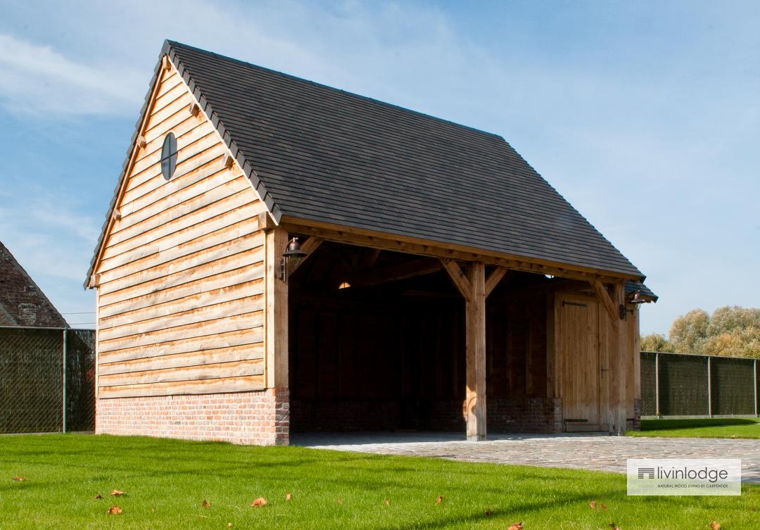 landelijke houten carports