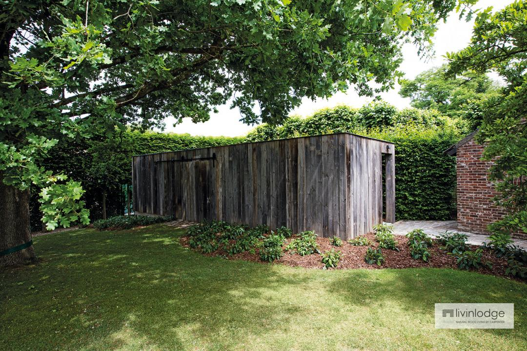 """Pure"" houten tuinberging Ducaju"